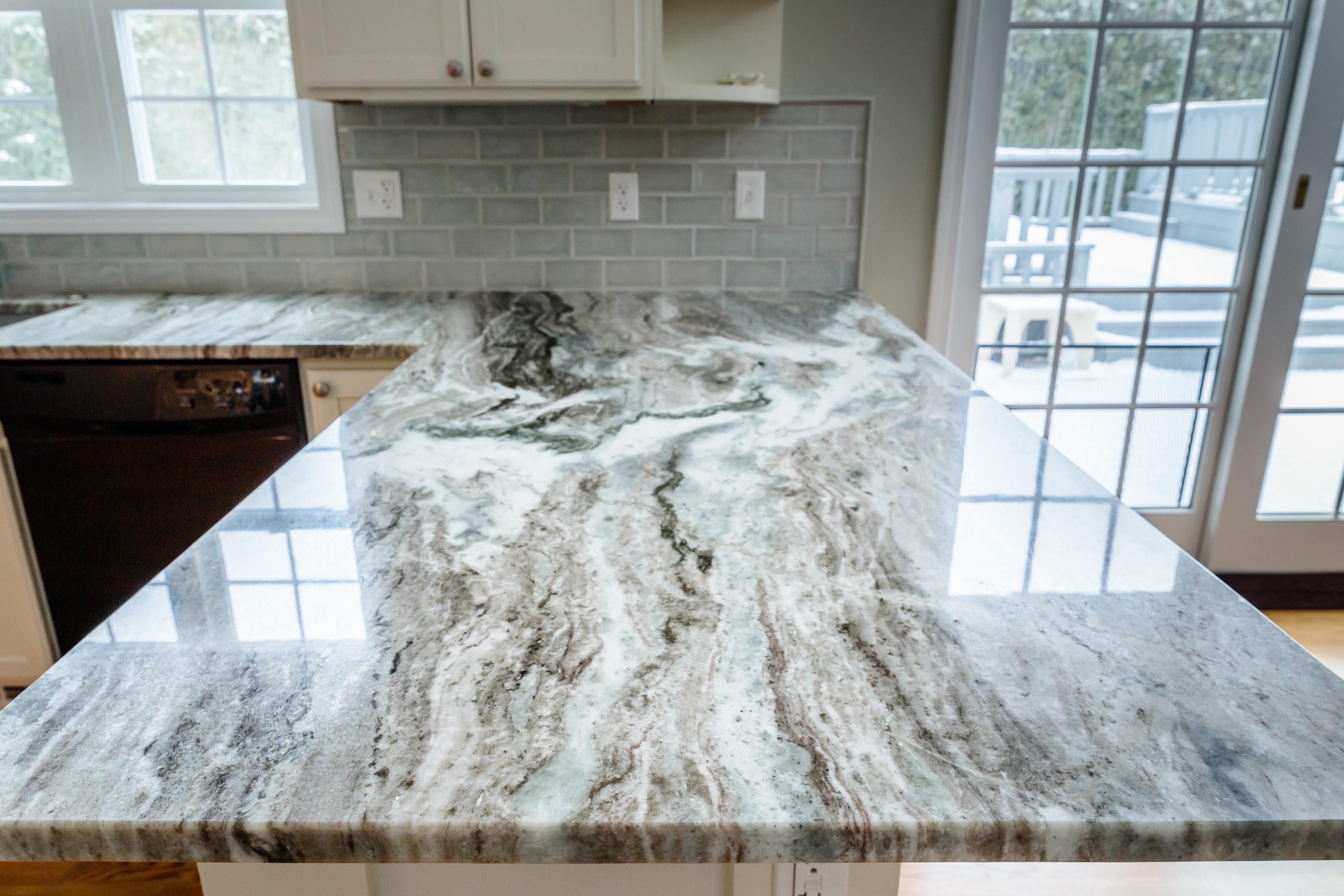 Northern Granite Brown Fantasy Kitchen