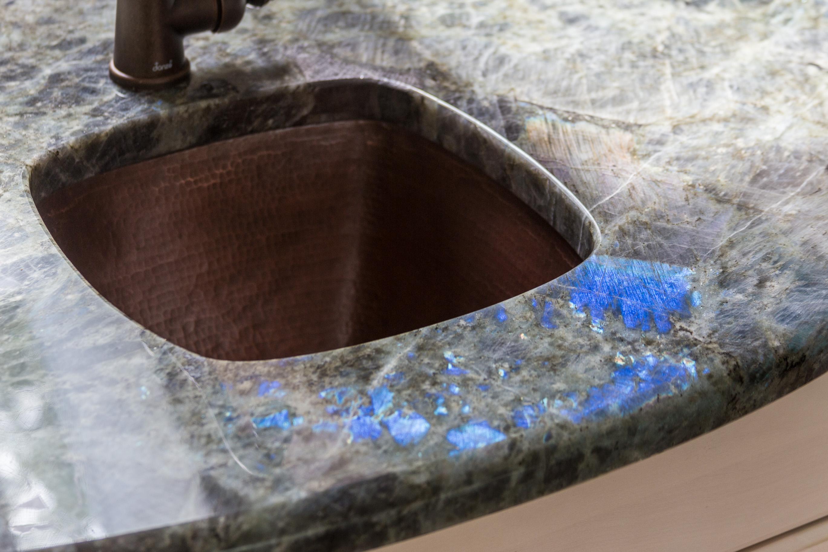 Northern Granite Lumerian Light Granite Kitchen