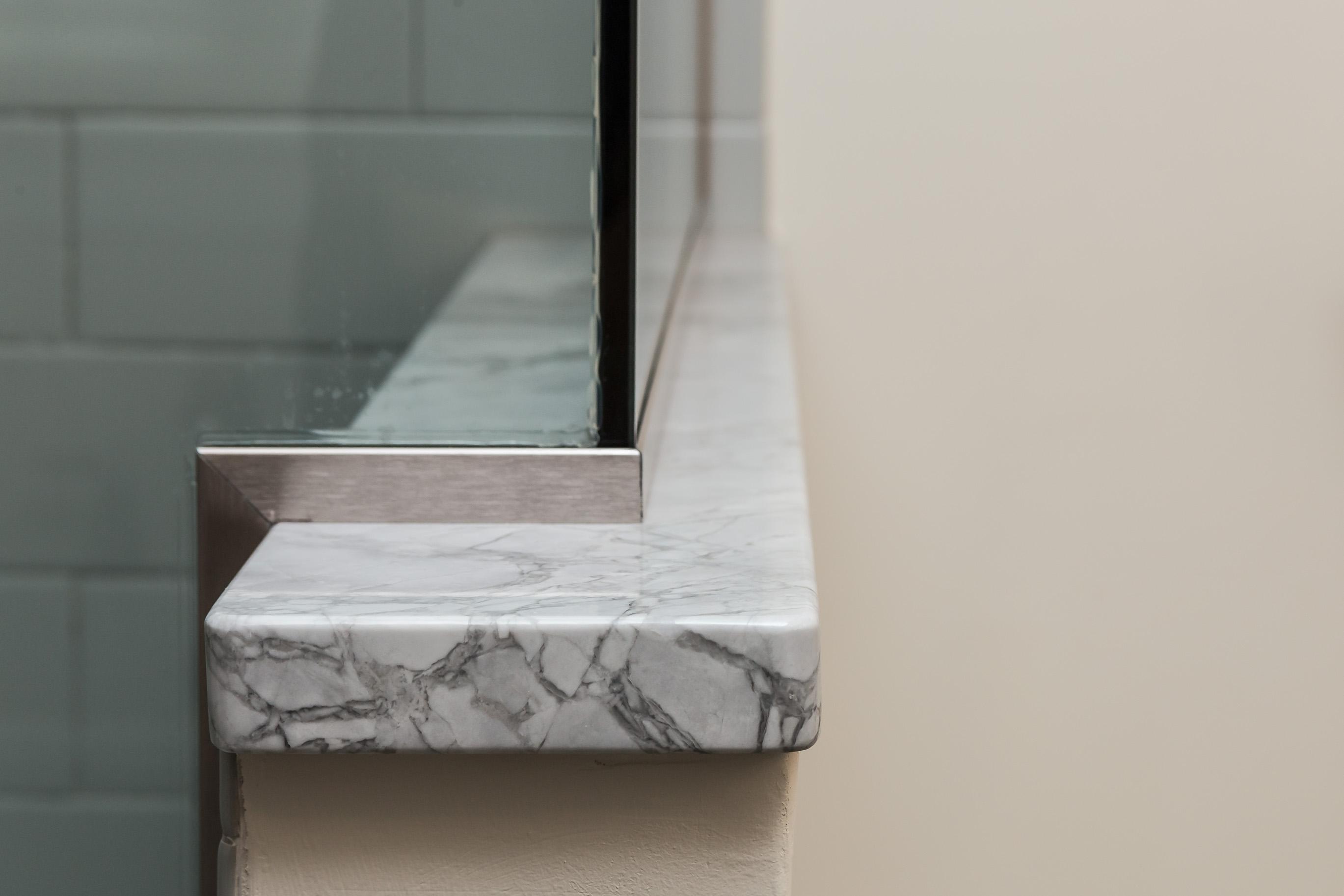 Northern Granite Super White Extra Quartzite Wall Cap