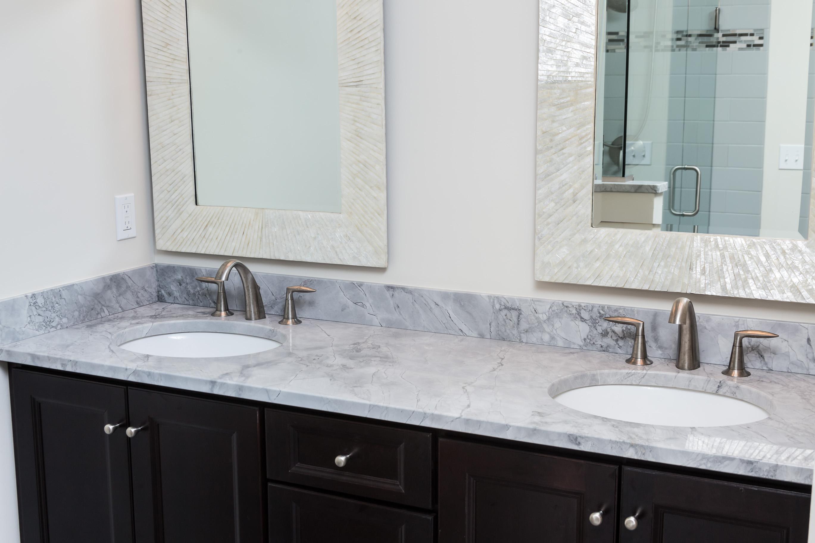 Northern Granite Super White Extra Quartzite Vanity