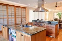 Northern Granite Turtle Green Quartzite Kitchen