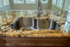 Northern Granite Delicatus Gold Granite Kitchen