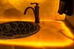 Northern Granite Golden Onyx Vanity