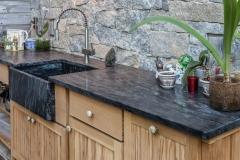 Northern Granite Northern Light Soapstone Kitchen